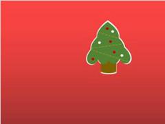 用PPT制作圣诞卡片的方法