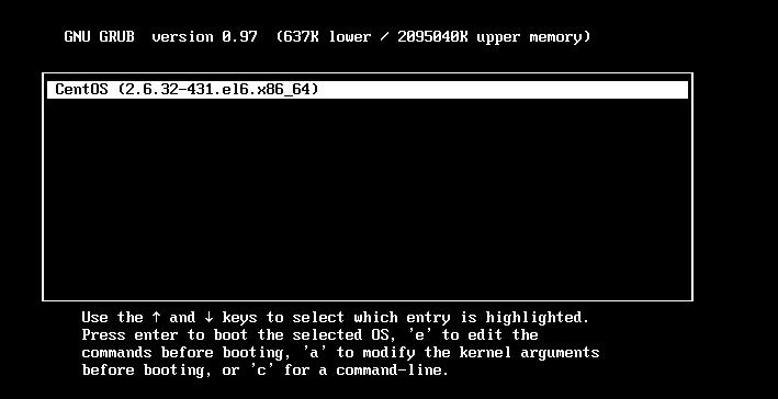 centos6系统密码忘了怎么破解root密码解决办法